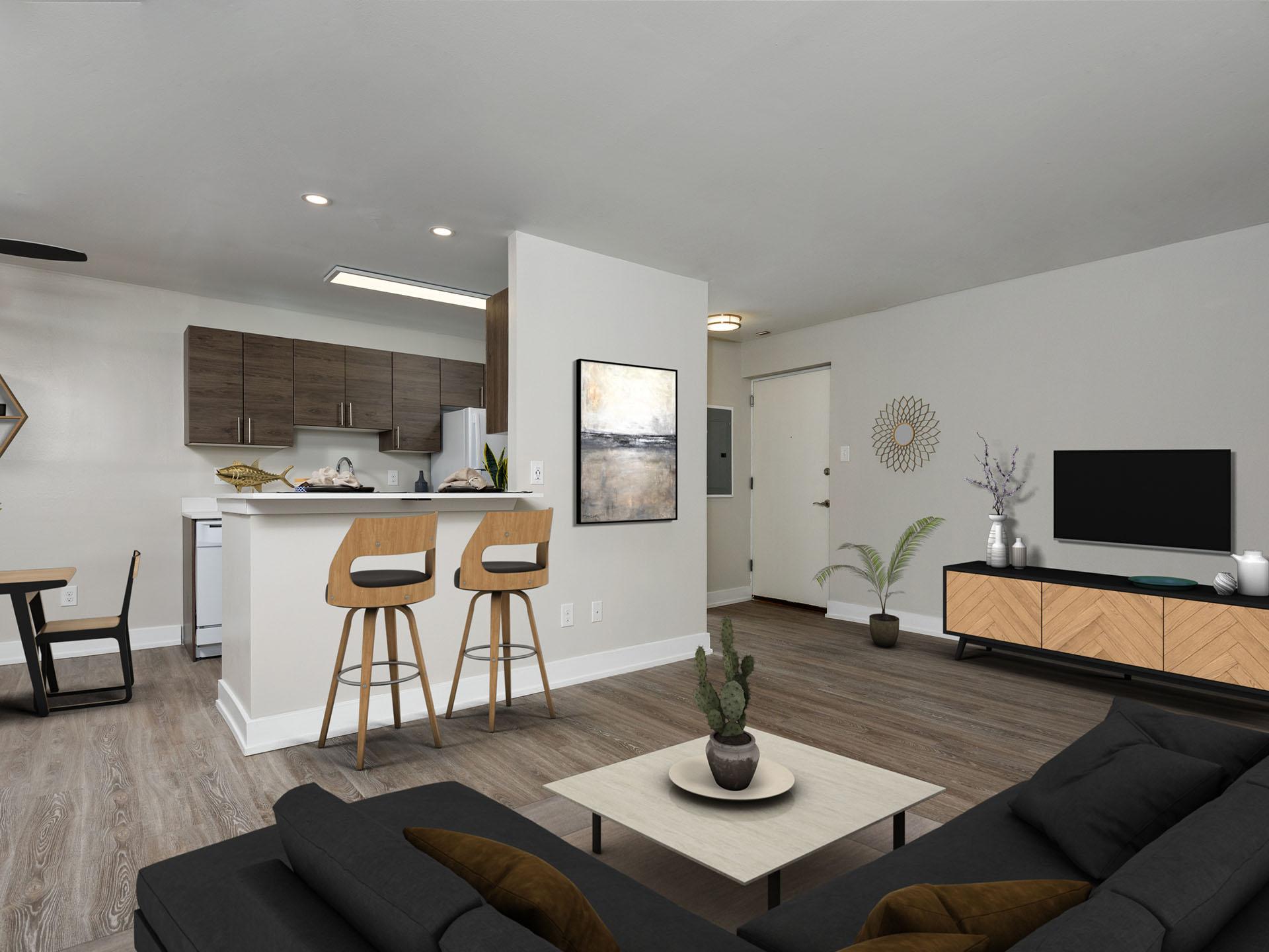 Lehigh Flats - Living Room