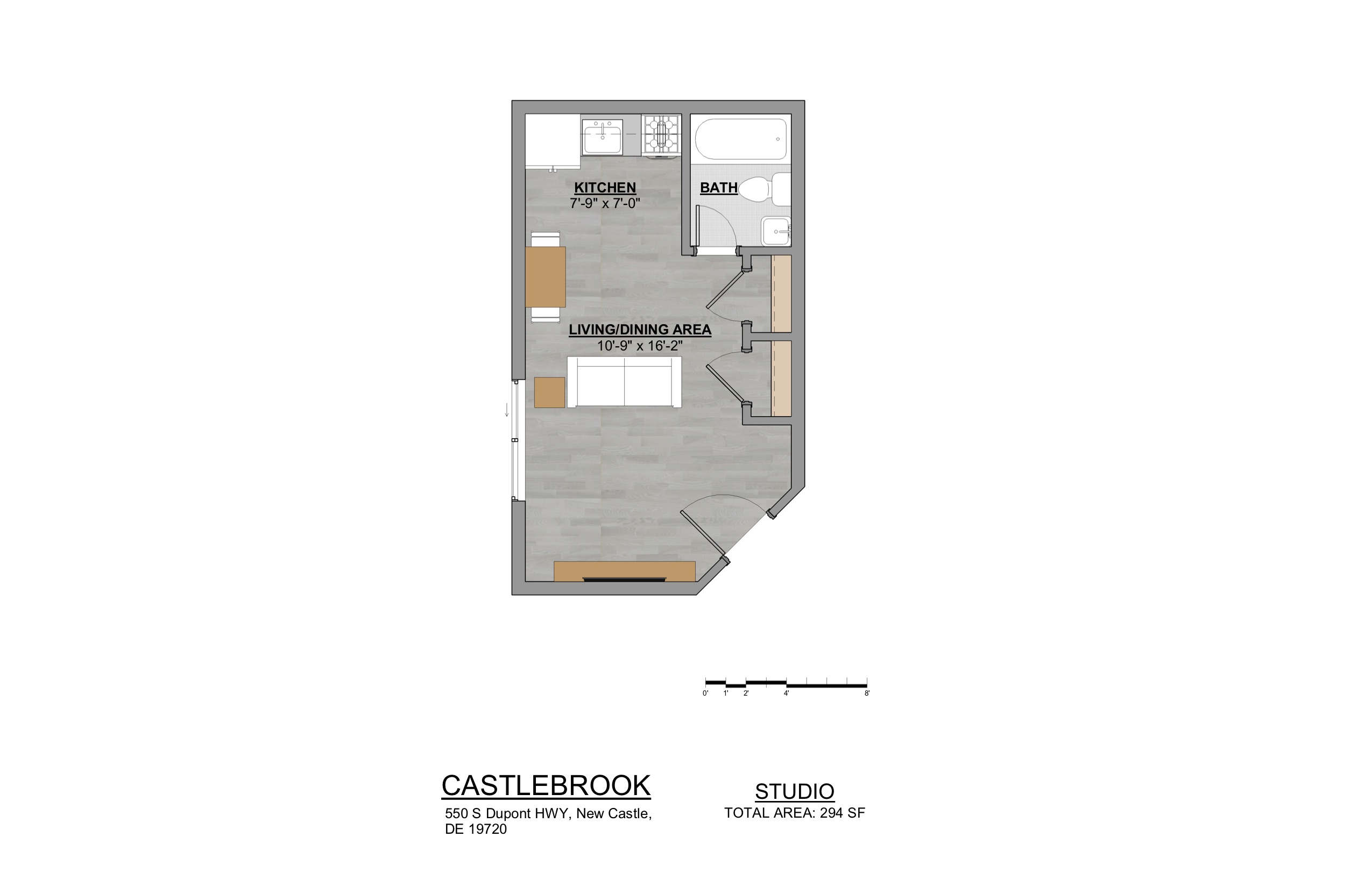 Castlebrook Apartments Studio