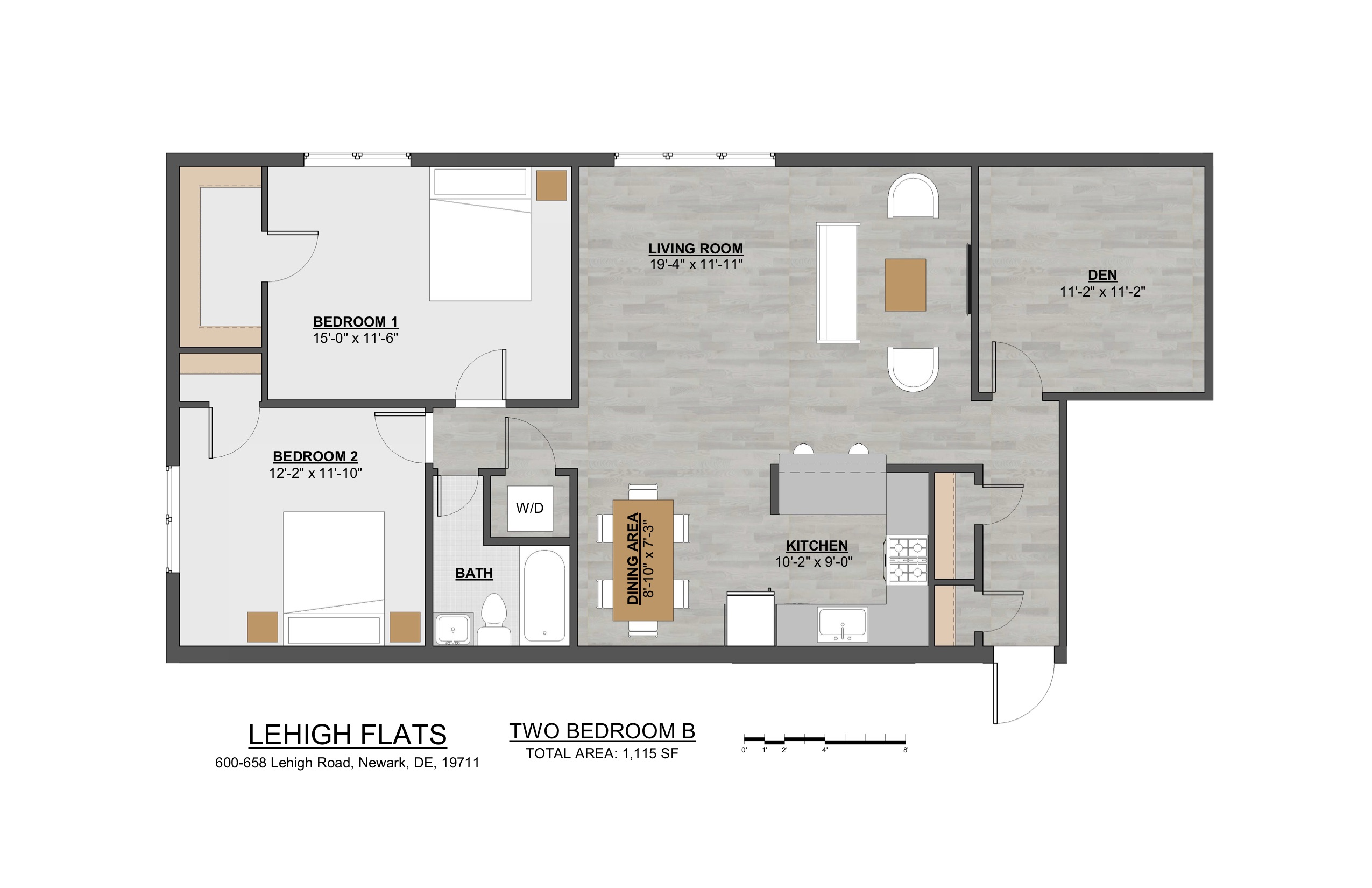 Two Bedroom B